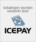 Online betalingen in deze webshop worden veilig afgehandeld door ICEPAY